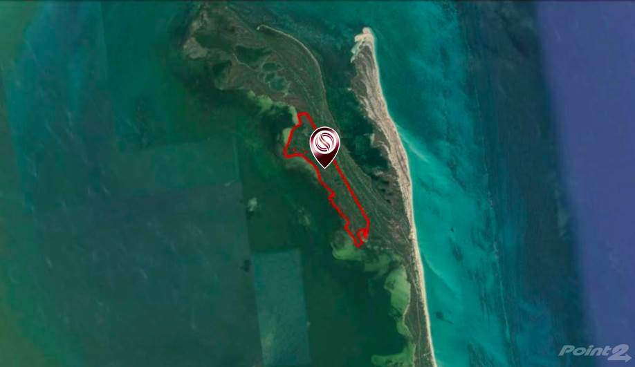 Cư gia bằng Macrolot, oceanfront hectares, in Isla Blanca, mixed land use for sale in Cancun., Isla Mujeres, Quintana Roo ,77500  , Mexico