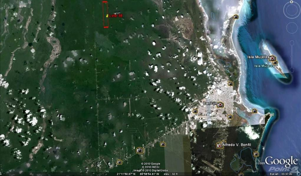 Cư gia bằng COMMERCIAL LAND FOR SALE WITH AUTHORIZED PROYECT IN ISLA MUJERES 474 HECTARES, Isla Mujeres, Quintana Roo   , Mexico